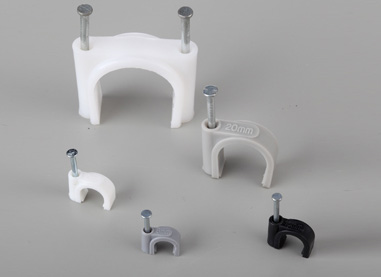 Circle Cable Clips - Cable Ties